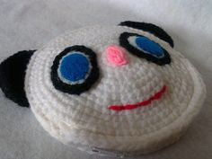 Crochet Coin Purse - Panda