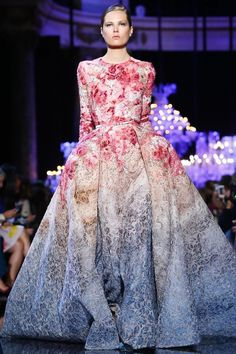 Elie Saab presented their Haute Couture Fall/Winter 2014-2015 collection yesterday at the Pavillon Cambon Capucines in Paris France as part of Paris Fashion Week.      ...