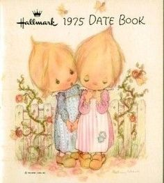I always loved this Hallmark stuff. I had the calendars, diaries and stationary. WM