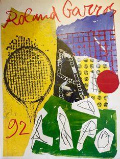 2002 French Open Tennis Roland Garros Poster A3//A4 Print