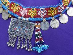 Cinturon tradicional de bailarina de la etnia Kuchi, sur de Afghanistan.