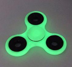 Hand Fidget Spinner Glow in the Dark - met hoogwaardige keramische lagers