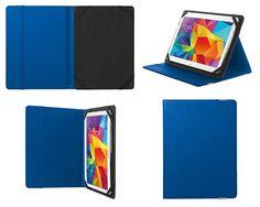 Flip Cover Custodia a Libro Book Case Kickstand Universale Folio Trust Tablet...Accessori Elettronica -> Accessori per PC -> Accessori per Tablet PC
