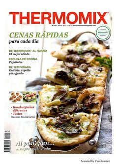 Thermomix magazine nº 101 [marzo 2017 Lidl, Magazine Thermomix, Food N, Food And Drink, Bacon And Cheese Quiche, Easy Cooking, Cooking Recipes, Vegetarian Cookbook, Bon Appetit
