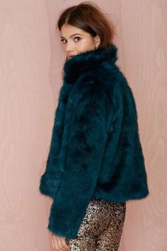 Glamorous Furred Lines Faux Fur Jacket - Jackets | Faux Fur | Clothes | All | Faux Fur-ever | Disco | The Party Queen