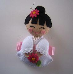 ♥♥♥ Japinha... by sweetfelt  ideias em feltro, via Flickr