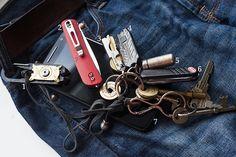 March 2017 EDC Pocket Dump   More Than Just Surviving   Survival Blog   Preppers & Survivalists   Gear & Knives