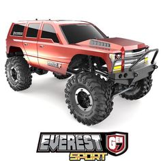Everest Gen7 Sport – Redcat Racing Monster Truck Videos, Monster Trucks, Super Swamper Tires, Sports Today, 1 10 Scale, Rc Trucks, Steel Wheels, Metal Gear, Performance Parts