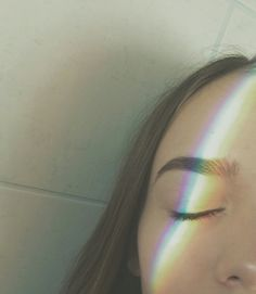 The rainbow might make me colorful but if i open my eyes the only thing youll see is black.