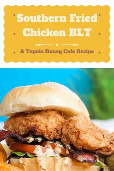 Winner, winner chicken dinner! Our Southern Fried Chicken BLT is a Tupelo Honey classic - and now you can make it right at home. Visit our blog to get the recipe!