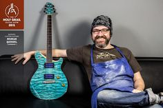 Exhibitor at the Holy Grail Guitar Show 2015: Markus Quenzel, Quenzel Custom Guitars, Germany. www.quenzel-guitars.de, www.facebook.com/QuenzelCustomGuitars?fref=ts www.holygrailguitarshow.com/exhibitors/quenzel-custom-guitars/
