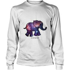 galaxy elephant - Swirly Elephant Family  #elephants #elephantshirts #iloveelephants # tshirts