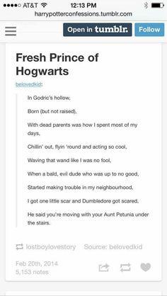 Fresh Prince of Hogwarts