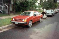 1984 Ford Tempo. My first new car.