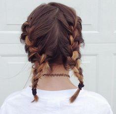 #workout #hair #braid