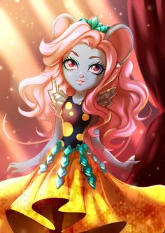 All about Monster High: Mousedes King