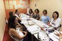 Paris Langues' classroom - Salle de classe de Paris Langues