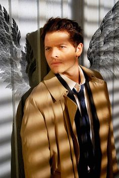Misha Collins #supernatural #Cas #Angel