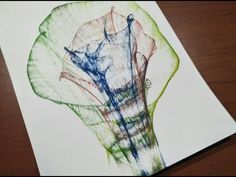 Easy thread painting tutorial - YouTube
