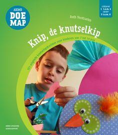 Ruth Verstraeten. Knip, de knutselkip. 101 originele knutselopdrachten voor kinderen van 7 tot 14 jaar. Plaats: MAN-EXPR.
