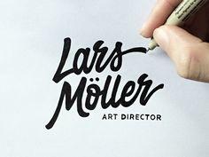 Lars Möller - Art Director (Sketch)