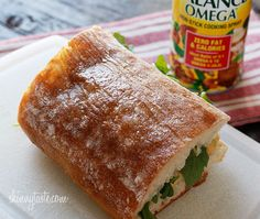 Chicken Panini with Arugula, Provolone and Chipotle Mayonnaise | Skinnytaste