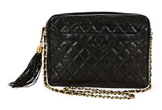 Vintage Chanel Quilted Day Bag