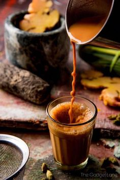 When the weather is crappy in the middle of summer a cup of hot Ayurvedic tea fi. Tea Recipes, Indian Food Recipes, Ayurvedic Tea, Tea Wallpaper, Nature Wallpaper, Kerala Food, Masala Chai, Food Photography Tips, Rustic Photography