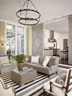 doors, high ceilings and tall windows. love everything about this :)