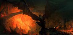 Lava Gargoyle by 88grzes.deviantart.com on @deviantART