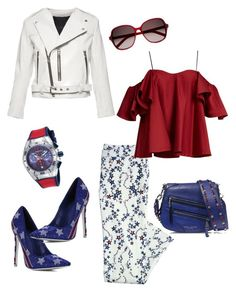 To the stars by aakiegera on Polyvore featuring polyvore, fashion, style, Anna October, Marc Jacobs, Canvas by Lands' End, TechnoMarine, Yves Saint Laurent and clothing
