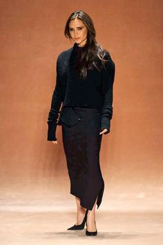 VB in fat culottes