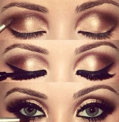 .Masquerade makeup?