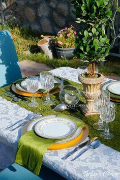 Garden Party Tablescape | Jordan's Easy Entertaining