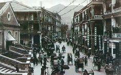 Queen's Rd 皇后大道 ,Hong Kong in 1910.