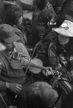 Fiddler'~ (Cree) ~ Wemindji, Quebec 1973 Photo: George Legrady