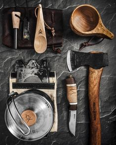 Bushcraft Gear, Bushcraft Camping, Camping And Hiking, Camping Gear, Survival Skills, Survival Weapons, Outdoor Survival, Outdoor Gear, Kuksa Cup