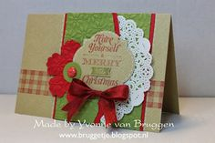 Yvonne's Stampin' and Scrap Blog: Christmas Cards with Stampin' Up!