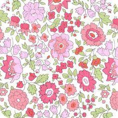 Tissu Liberty D'Anjo sweet pink