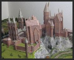 Harry Potter Wizard Castle free papercraft download