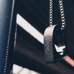 Thank you to @originalattire for this killer photo of our matte black Sua pendant! #vitaly #fashion #pendant