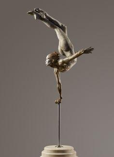 o_flier #sculpture by Richard MacDonald