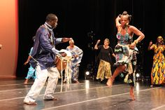 Sabar by Babacar M'Baye at the Ailey Extension's World Dance Celebration  (photo credit - Mickela Mallozzi ©2012)