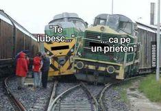 Te lovește fix că trenul - Poze haioase, Imagini Amuzante, Meme - Sugubat