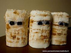Mummie da creare con le bottiglie