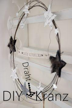 DIY Draht-Kranz   creativeLIVE   Bloglovin'