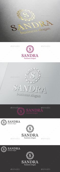 """Boutique Badge Logo Emblem - Sandra - Boutique Crest Monogram Logo Emblem – This Premium, Classy and Elegant Logo is ideal for Elite brands like Real Estate, Apparel Boutique, Fashion Boutique, Beauty Salon, Photographers, Restaurant, Spa, luxury industry like jewellery / jewelry, fashion clothes, or any other classy business and product names, you can think of. – you can change letter """"S"""" in any letter, as you like."""