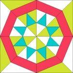 EQ7 Summer Drawing: Block 2– PatchDraw Pieced