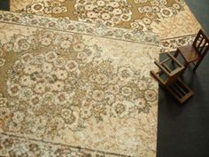 How to make a realistic printed carpet, one of the hardest things. Always looks artificial. Brilliant