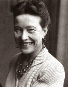 Simone de Beauvoir (1908 - 1986)